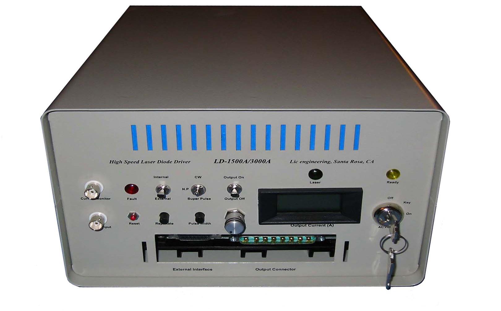 LD-1500A/3000A – High Speed & High Power Laser Diode Driver/Power Supply